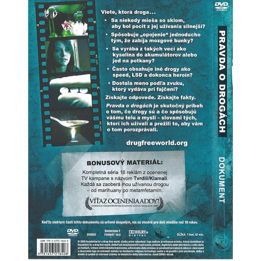 DVD Pravda o drogach - zadna